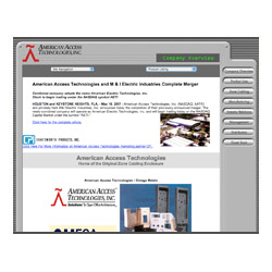 American Access Technologies web site