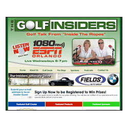 The Golf Insiders web site